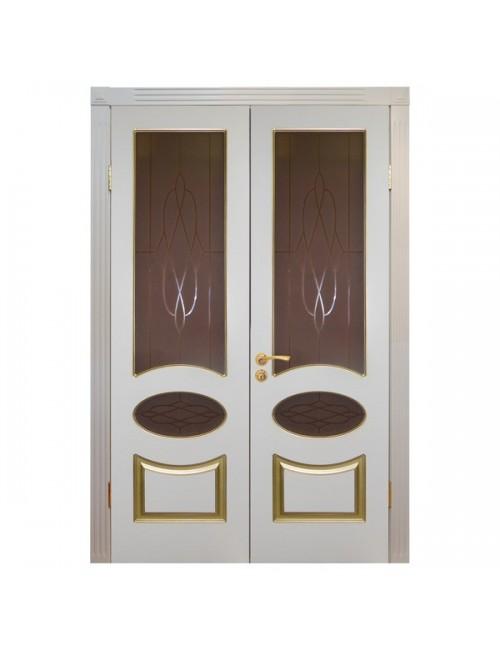 """межкомнатная дверь """"симфония распашная"""" (двери в эмали)"""