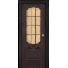 """Межкомнатная дверь """"Ланкона"""" стекло+обрешетка"""