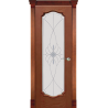 """Межкомнатная дверь """"Ланкона-2"""" стекло """"Виттория"""""""