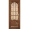 """Межкомнатная дверь """"Нади"""" стекло обрешотка"""