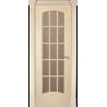 """Межкомнатная дверь """"Экзо"""" стекло обрешотка"""