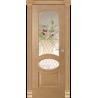 "Межкомнатная дверь ""Элина"" стекло ""Корзина"""