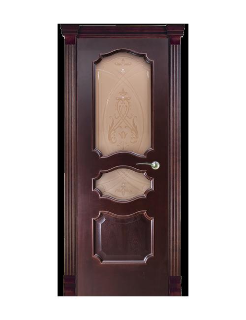 """Межкомнатная дверь """"Элиганте"""" стекло """"Алла"""""""