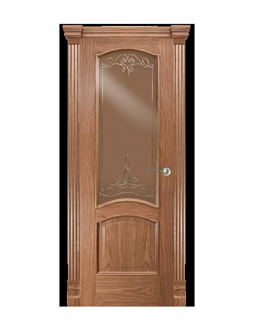 """Межкомнатная дверь """"Камри"""" стекло """"Классика"""""""