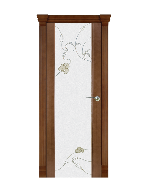 """Межкомнатная дверь """"Палермо"""" стекло """"Розалия"""""""