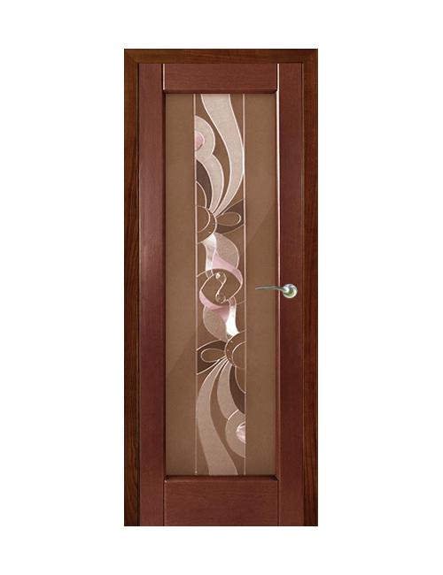 """Межкомнатная дверь """"Рубикон"""" стекло """"Сюжет"""""""