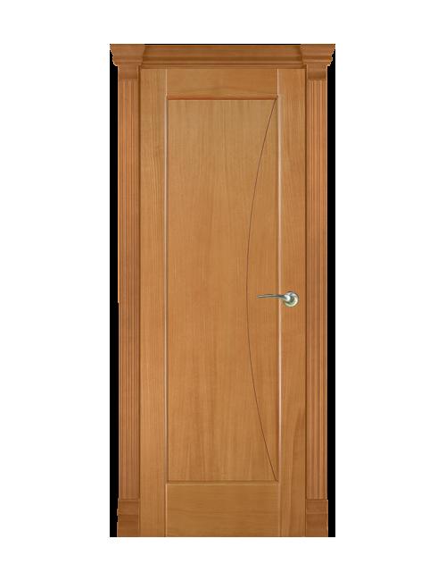"""Межкомнатная дверь """"Реджиния"""" глухая с фрезеровкой """"Месяц"""""""