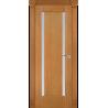 """Межкомнатная дверь """"Реджиния"""" стекло 2 полоски"""