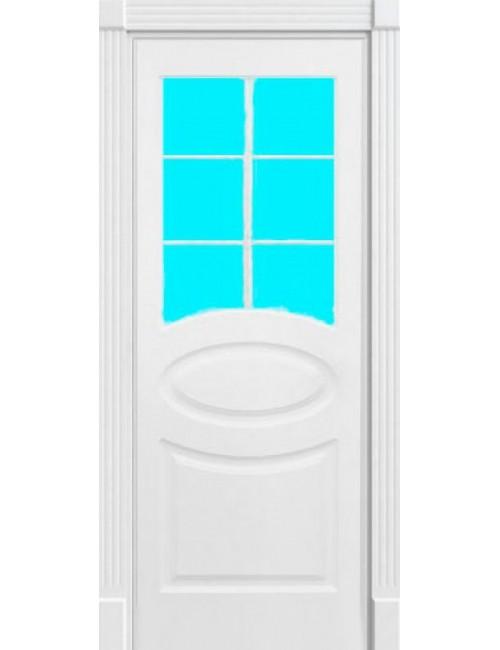 """Межкомнатная дверь """"Симфония"""" окрашенная (в эмали) стекло с j,htijnrjq"""