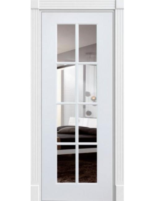 """Межкомнатная дверь """"Прима"""" окрашенная (в эмали) стекло 8"""