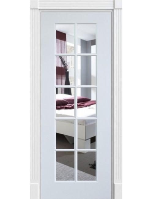 """Межкомнатная дверь """"Прима"""" окрашенная (в эмали) стекло 10"""