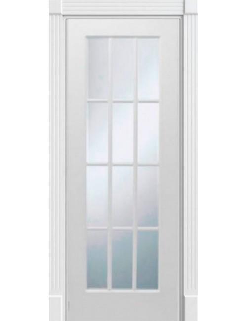 """Межкомнатная дверь """"Прима"""" окрашенная (в эмали) стекло 12"""
