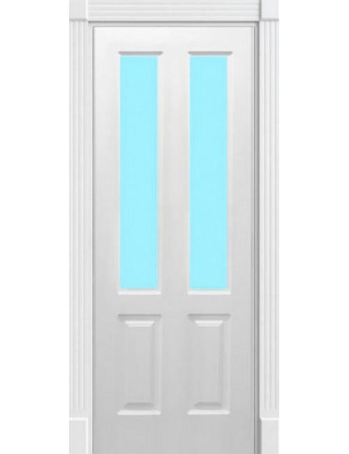 """Межкомнатная дверь """"Американо"""" окрашенная в эмали (под эмалью) стекло 1"""