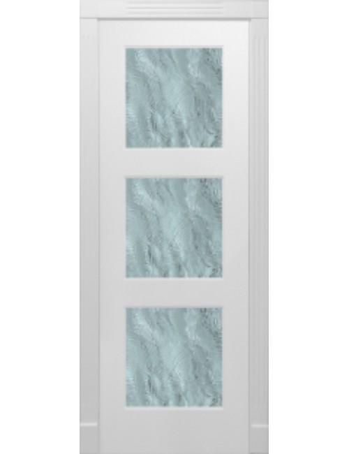 """Межкомнатная дверь """"Прима-3"""" окрашенная в эмали (под эмалью) стекло"""