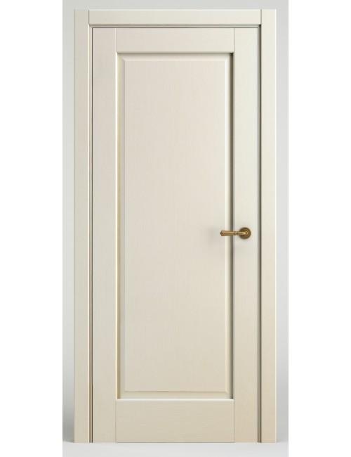 """Межкомнатная дверь """"Прима""""окрашенная в эмали слоновая кость RAL1013 (под эмалью)"""