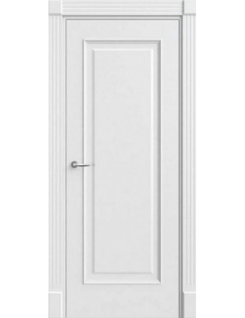 """Межкомнатная дверь """"Виста"""" Прима""""Багет окрашенная в белой эмали, белые двери"""