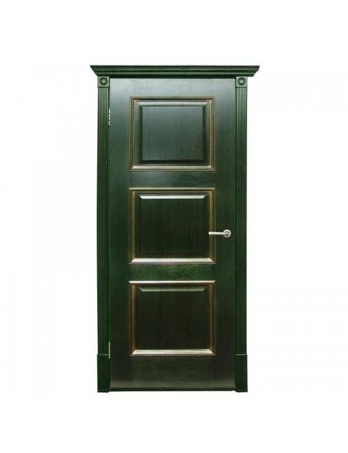 """межкомнатная дверь """"триест пг зеленое золото"""""""